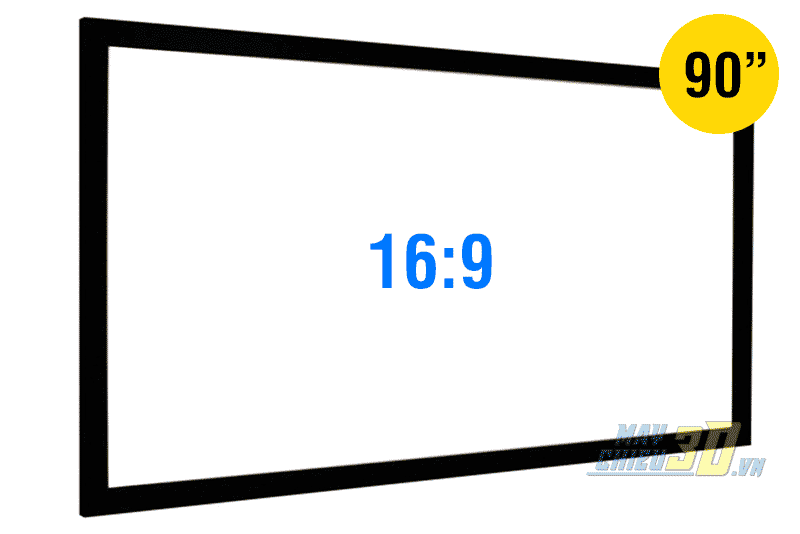 Màn chiếu khung cố định 90 inch chính hãng CineMax