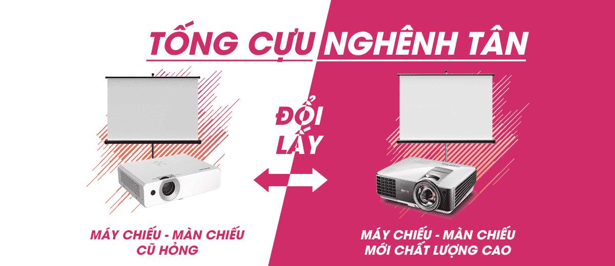 Thu mua máy chiếu cũ đổi lấy máy chiếu mới tại TpHCM, Hà Nội
