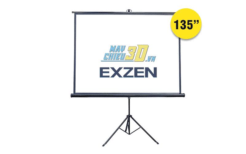 Màn chiếu 3 chân 135 inch chính hãng EXZEN