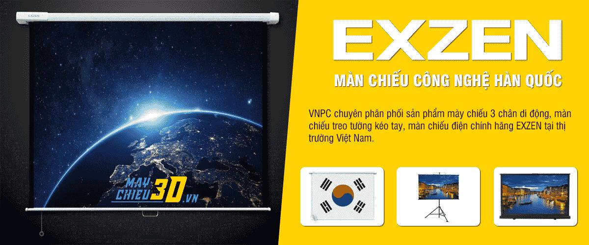 Màn chiếu chính hãng EXZEN Hàn Quốc giá rẻ nhất toàn quốc