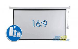 Màn chiếu điện 100inch tỉ lệ 16:9 chính hãng giá rẻ giao hàng trên toàn quốc