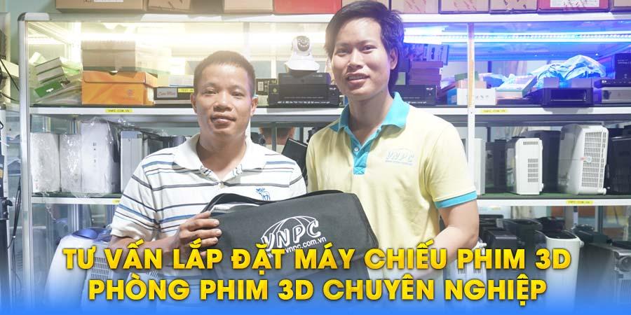 Tư vấn lắp đặt máy chiếu 3D giá rẻ chuyên nghiệp tại TpHCM & Hà Nội