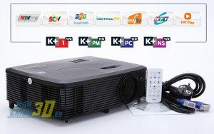 Máy chiếu K+ giá chỉ từ 8 triệu đồng đang rất được ưa chuộng