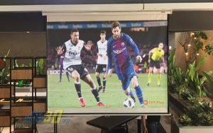 Máy chiếu bóng đá bán chạy nhất hiện nay do VNPC cung cấp