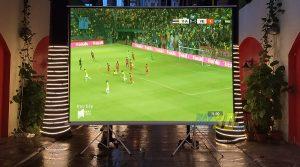 VNPC chuyên cho thuê máy chiếu phuc vụ xem bóng đá giá rẻ tại TpHCM & Hà Nội